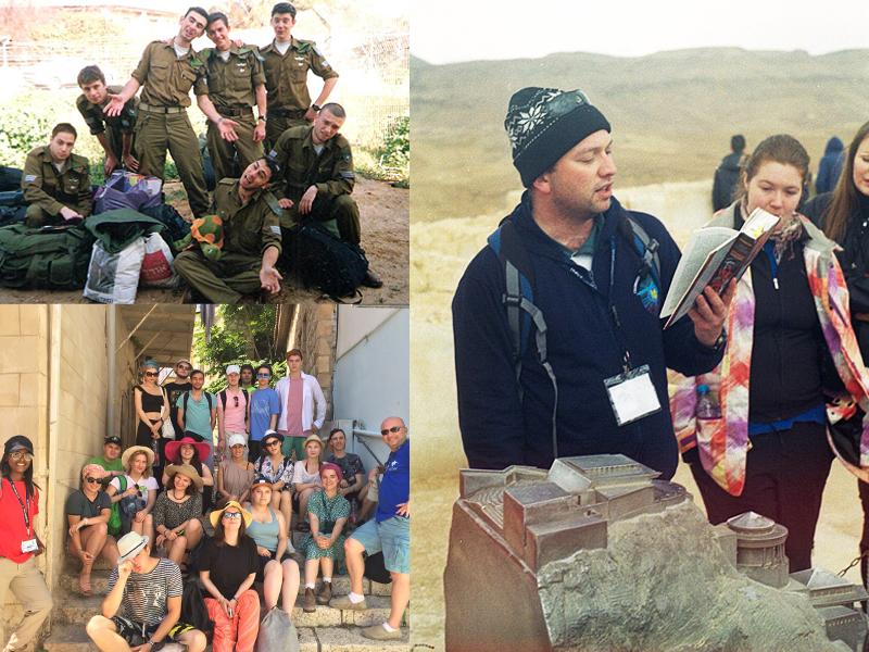 Фото из личного архива. В армии. Работа гидом. С группой «Таглита» в 2018 году