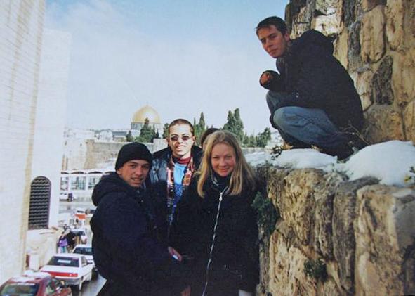 Первый снег в Иерусалиме. 1996 год
