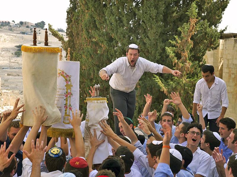 Празднование Симхат Тора в Израиле. Фото: Tze Ru Pang