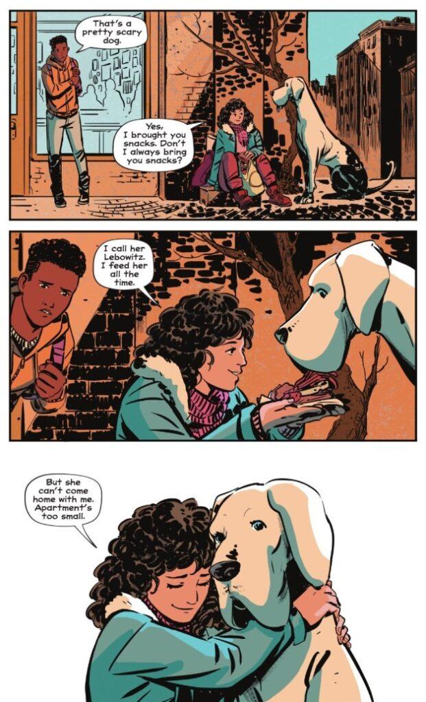 """Фрагмент комикса """"Whistle: A New Gotham City Hero"""". Иллюстрация: DC Comics"""