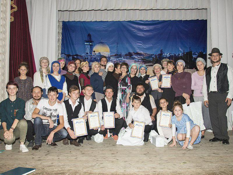 Участники программы Фестиваля еврейской культуры